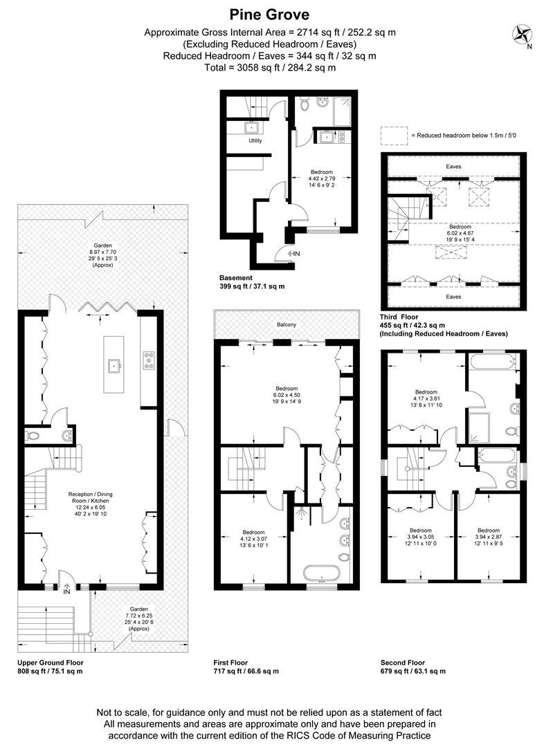 Floorplan for Pine Grove, Wimbledon